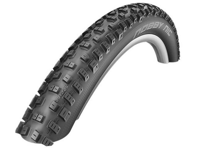"SCHWALBE Nobby Nic Bike Tyre 27.5"" folding Evo SnakeSkin TL-Easy Pacestar black"